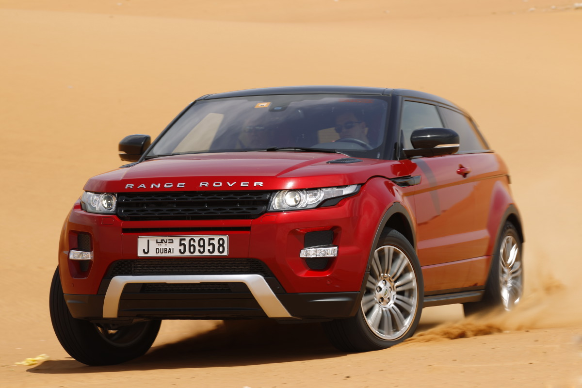 range rover evoque15 Welcome to Desert with Range Rover Evoque