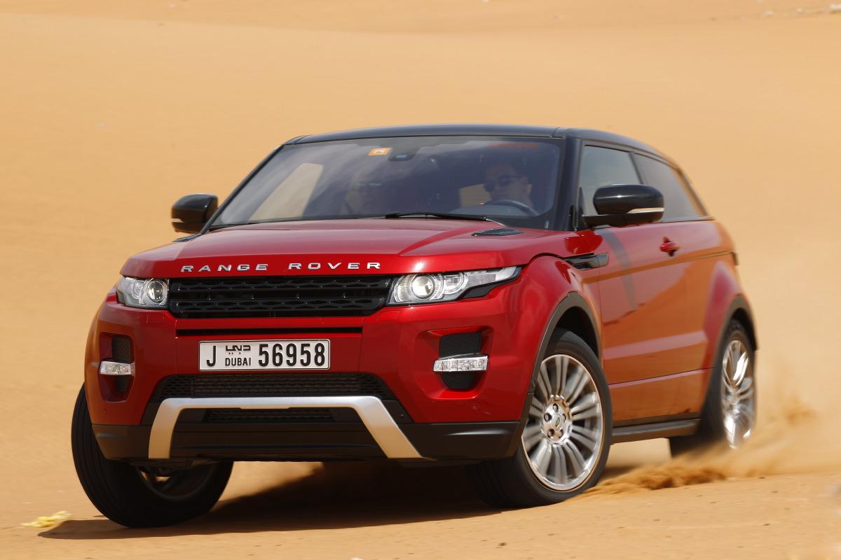 range rover evoque15 Welcome to Desert with Range Rover Evoque