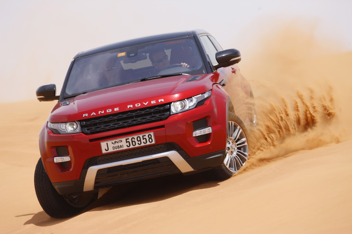 range rover evoque16 Welcome to Desert with Range Rover Evoque