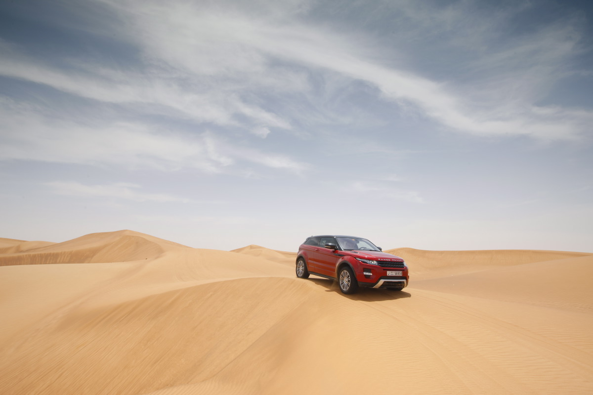 range rover evoque19 Welcome to Desert with Range Rover Evoque
