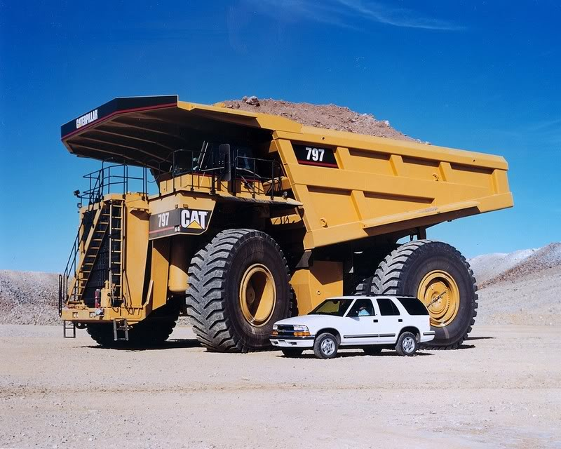 caterpillar truck The Worlds Largest Trucks Caterpillar 797 Series
