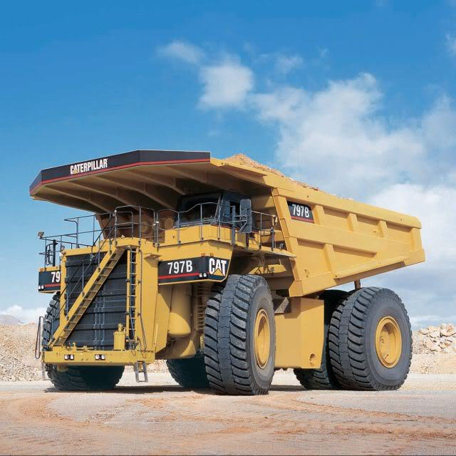 caterpillar truck2 The Worlds Largest Trucks Caterpillar 797 Series