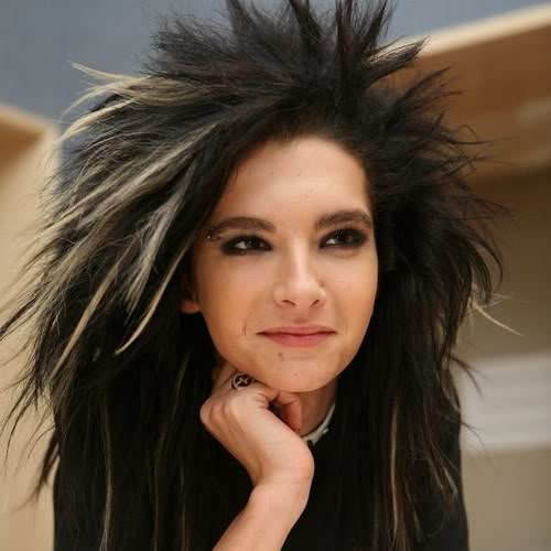 tokio hotel bill kaulitz1 Different Hair Styles by Bill Kaulitz from Tokio Hotel