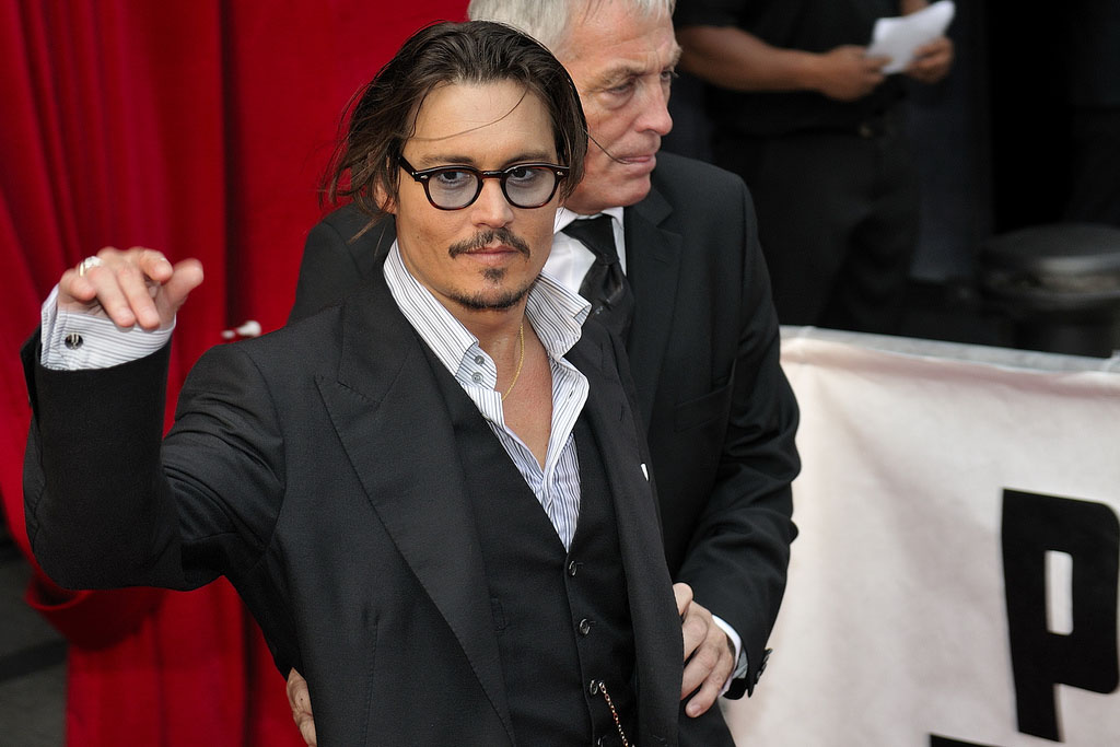 johny depp2 Filmography and Retro Photos of Johnny Depp