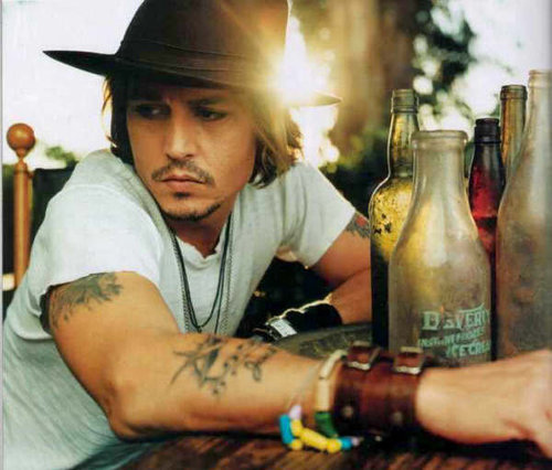 johny depp4 Filmography and Retro Photos of Johnny Depp