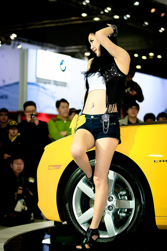 motor show model3 Hot Korean Models at Seoul Motor Show