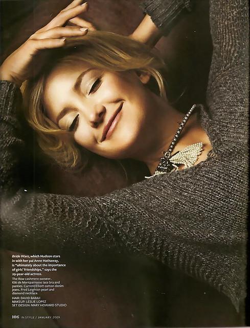 kate hudson3 Kate Hudson looks lovely in Magazines