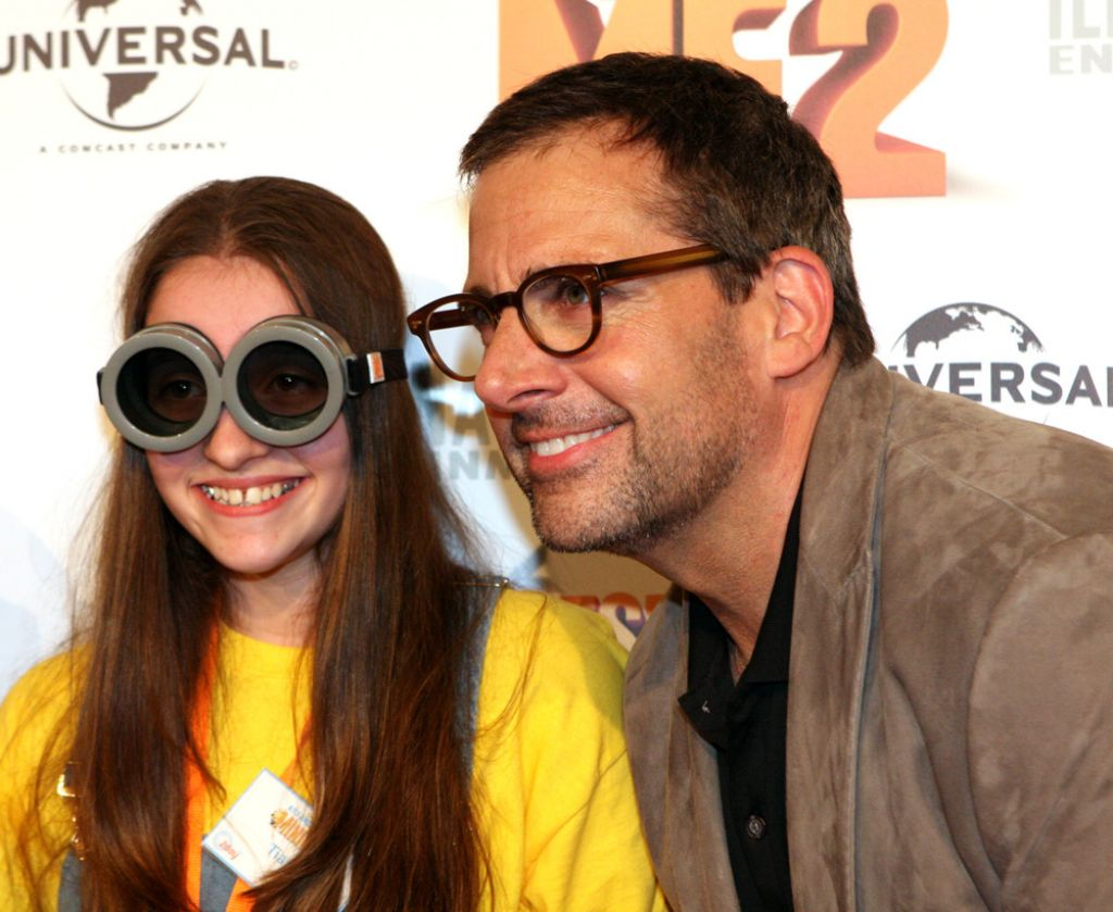 despicable me Miranda Cosgrove and Steve Carell at Despicable Me 2 Australian Premiere