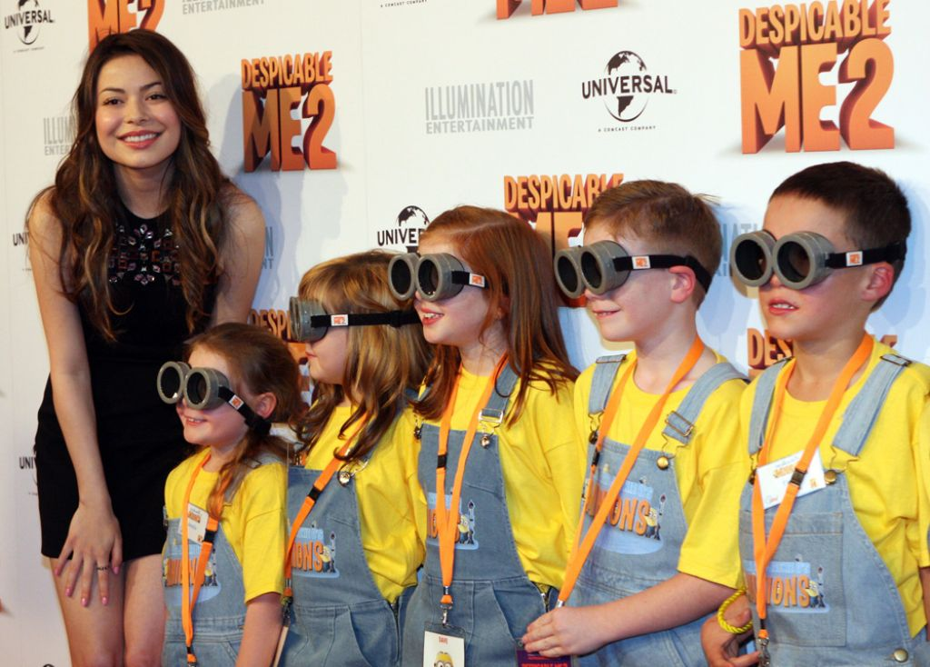despicable me4 Miranda Cosgrove and Steve Carell at Despicable Me 2 Australian Premiere