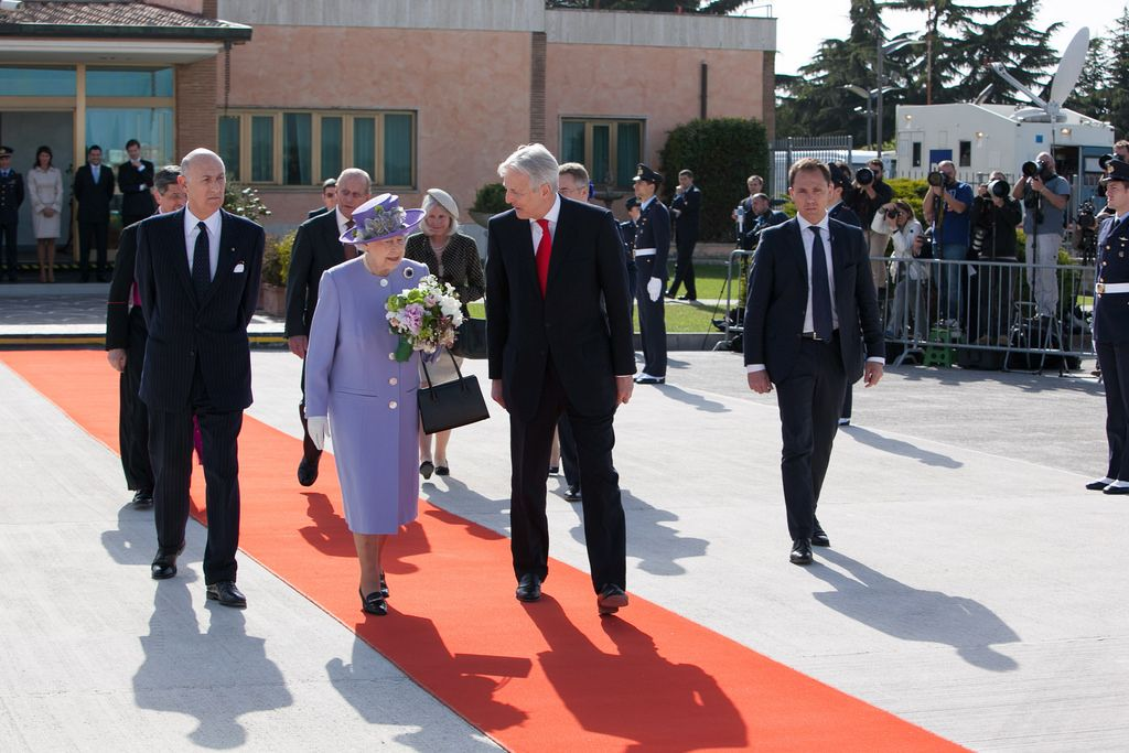 queen elizabeth The Queen Elizabeth II   A Royal visit to Rome