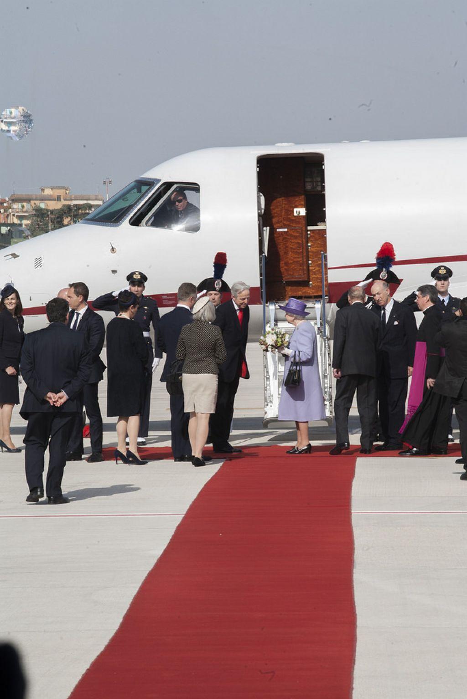 queen elizabeth1 The Queen Elizabeth II   A Royal visit to Rome