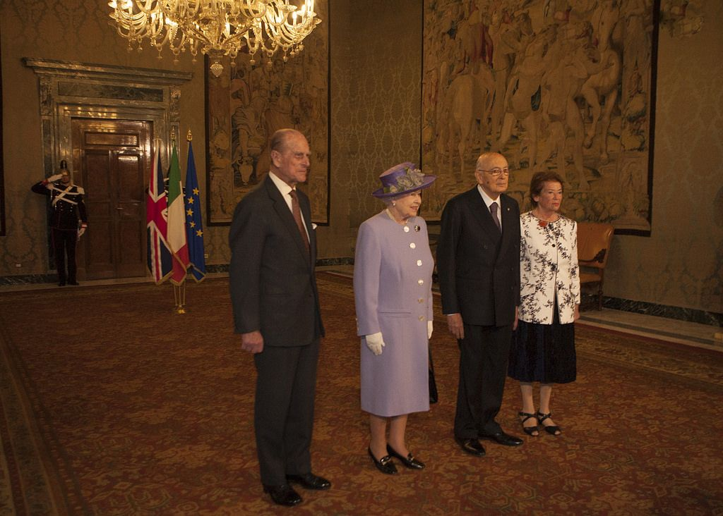 queen elizabeth10 The Queen Elizabeth II   A Royal visit to Rome