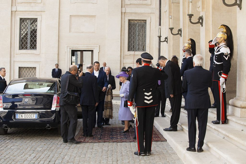 queen elizabeth5 The Queen Elizabeth II   A Royal visit to Rome