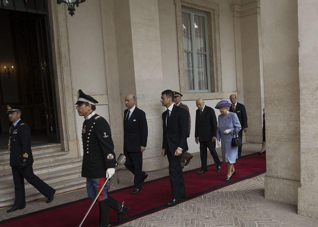 queen elizabeth7 The Queen Elizabeth II   A Royal visit to Rome