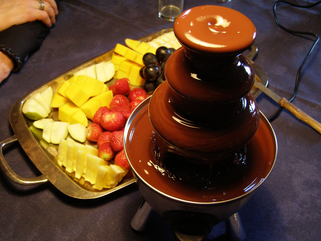 chocolate fountain What Kind of Chocolate Could Be Used in a Chocolate Fountain