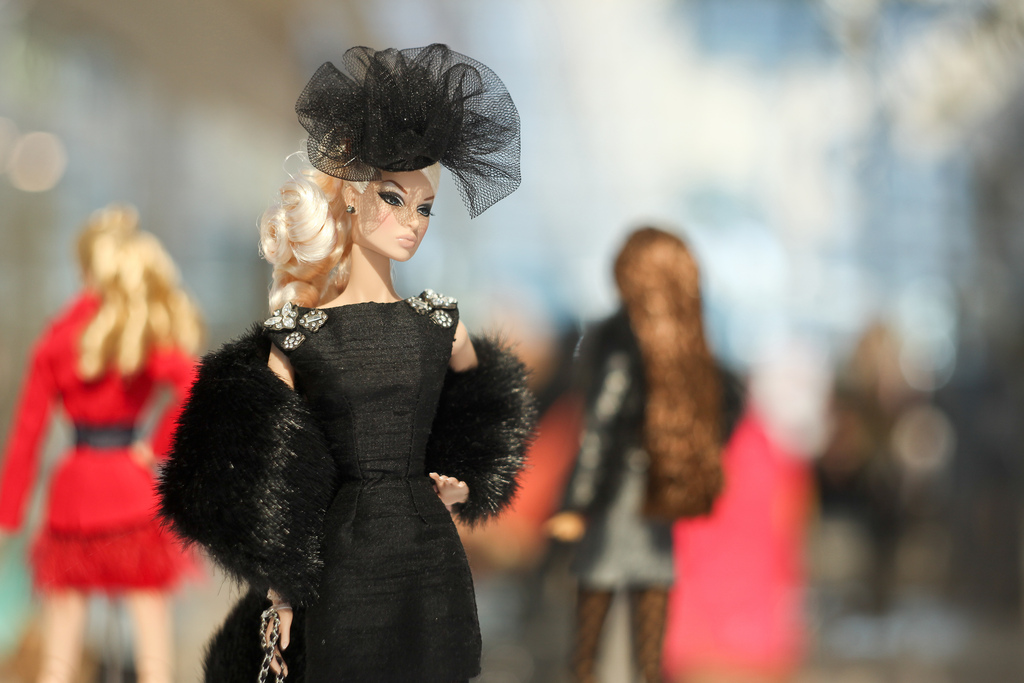 Dolls woondu for Jason wu fashion designer
