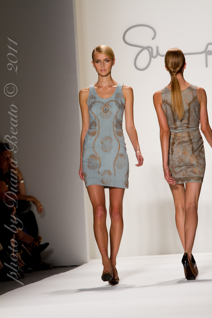 spring fashion Supima Spring 2012 Collection at New York Fashion Week