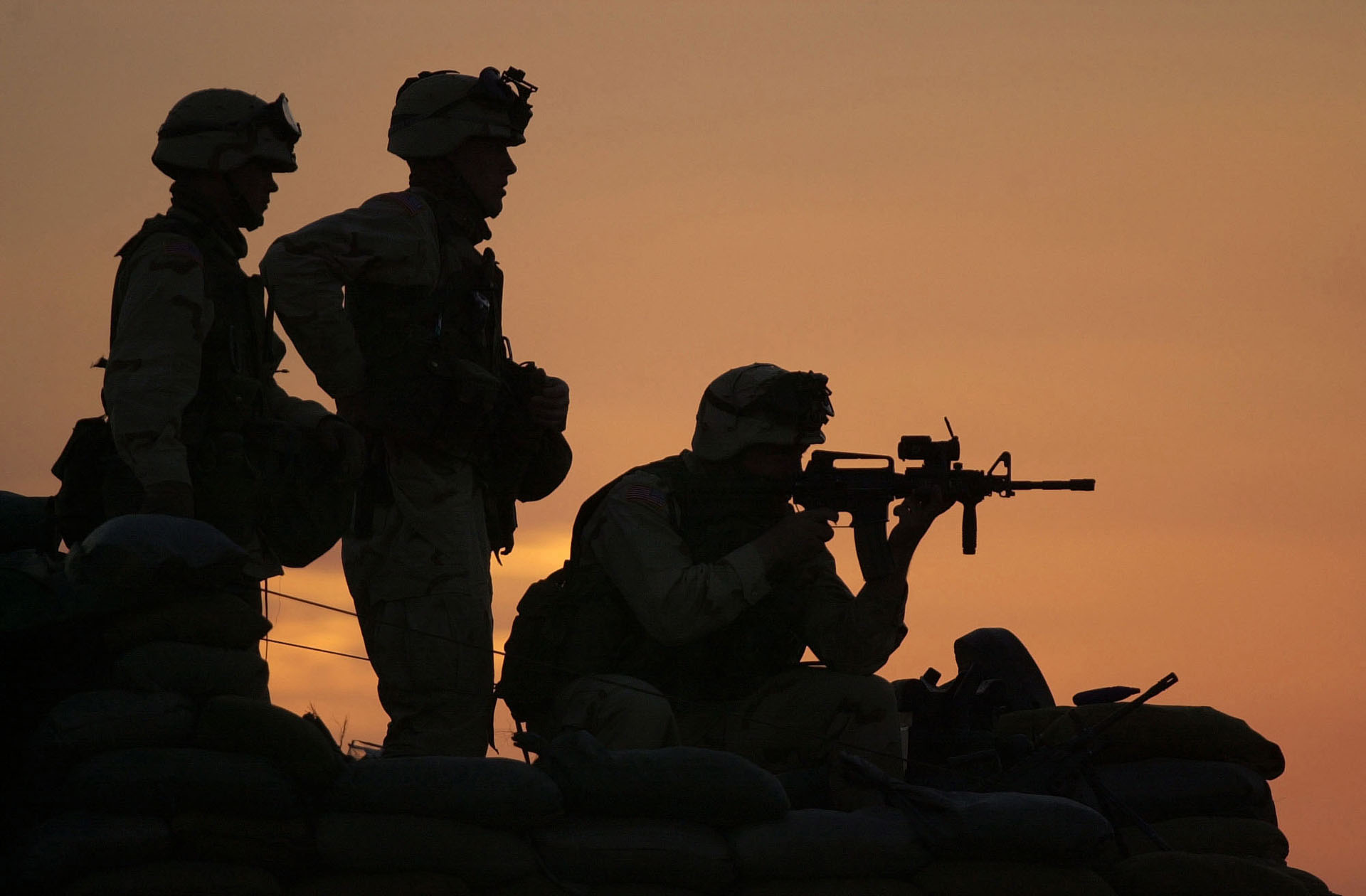 army wallpaper6 Best Army Silhouetted Wallpapers