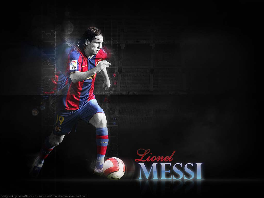 lionel messi wallpaper1 Lionel Messi Desktop Wallpapers