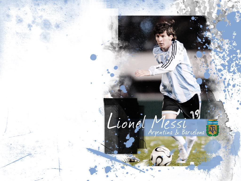 lionel messi wallpaper7 Lionel Messi Desktop Wallpapers