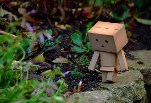paper robot7 Funny Paper Box Robot Models