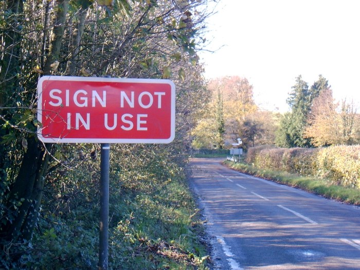funny road signs 7 Funny Road Signs
