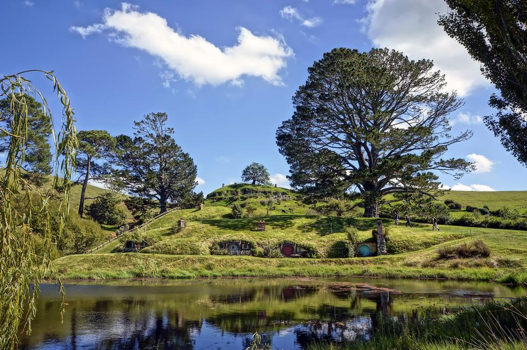 hobbiton movie set Hobbiton Movie Set in Matamata, North Island of New Zealand