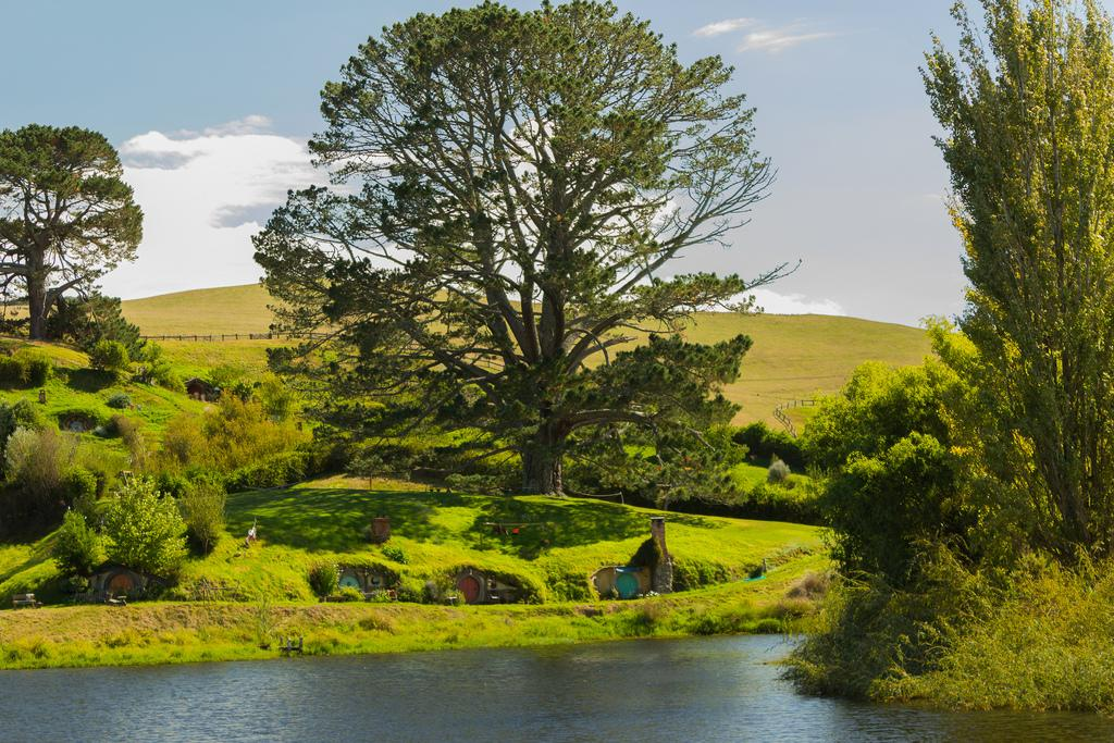 hobbiton movie set6 Hobbiton Movie Set in Matamata, North Island of New Zealand