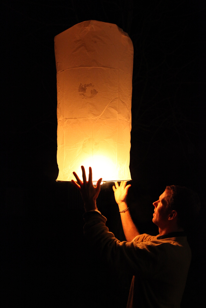 sky lantern12 How to Launch Sky Flying Lanterns ?