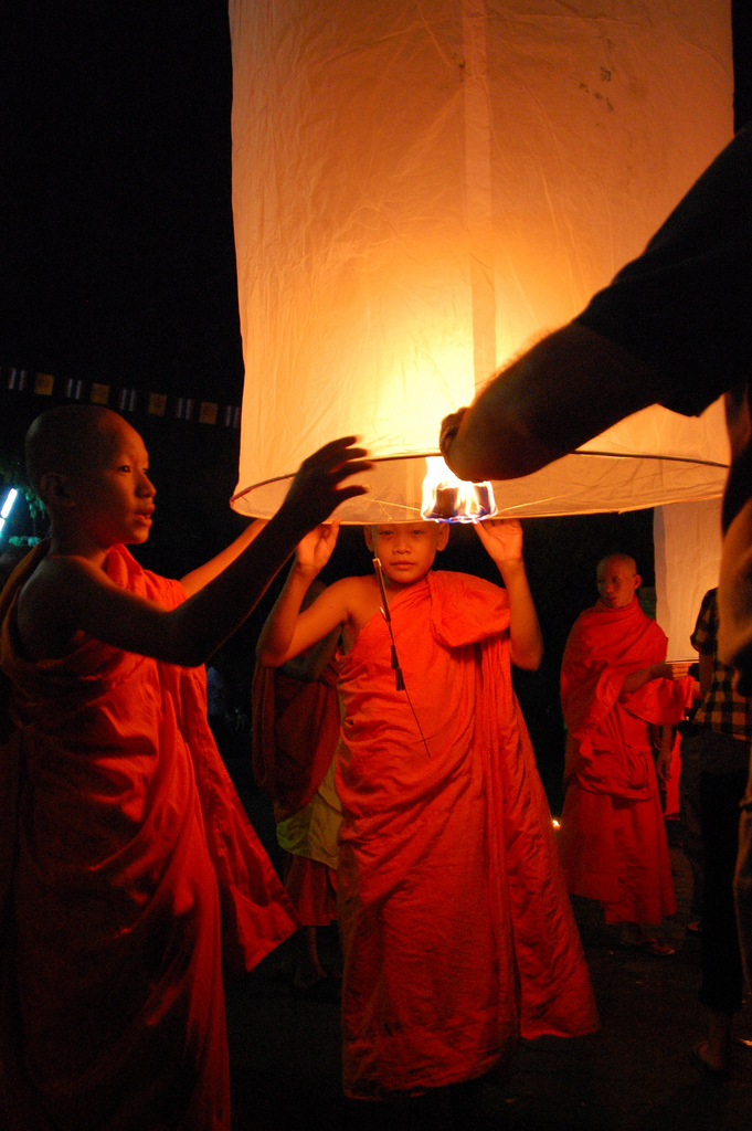 sky lantern13 How to Launch Sky Flying Lanterns ?