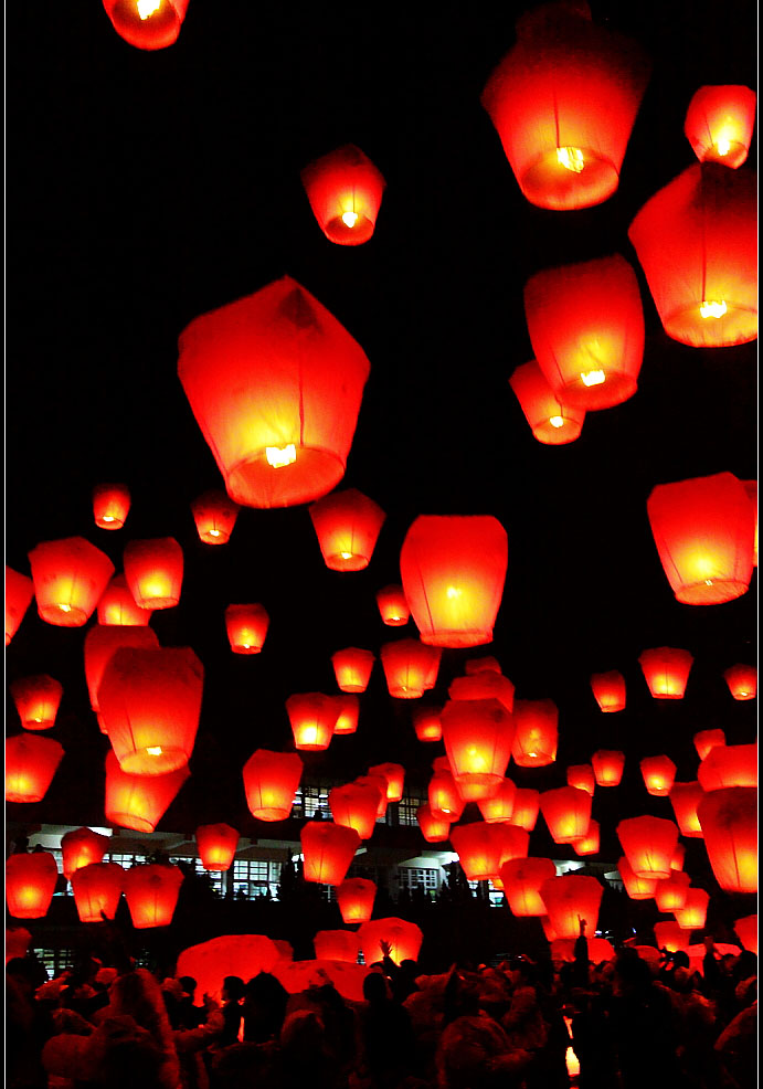 sky lantern2 How to Launch Sky Flying Lanterns ?