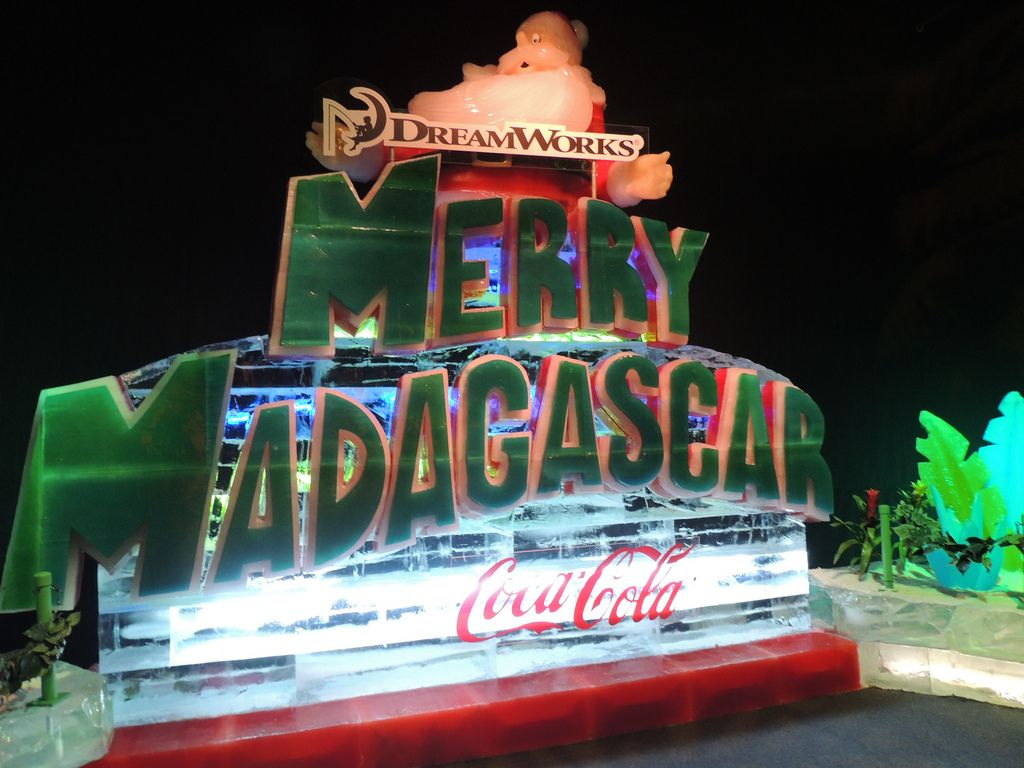 gaylord palms ice18 Madagascar Ice Sculptures Coolest Exhibit in Orlando