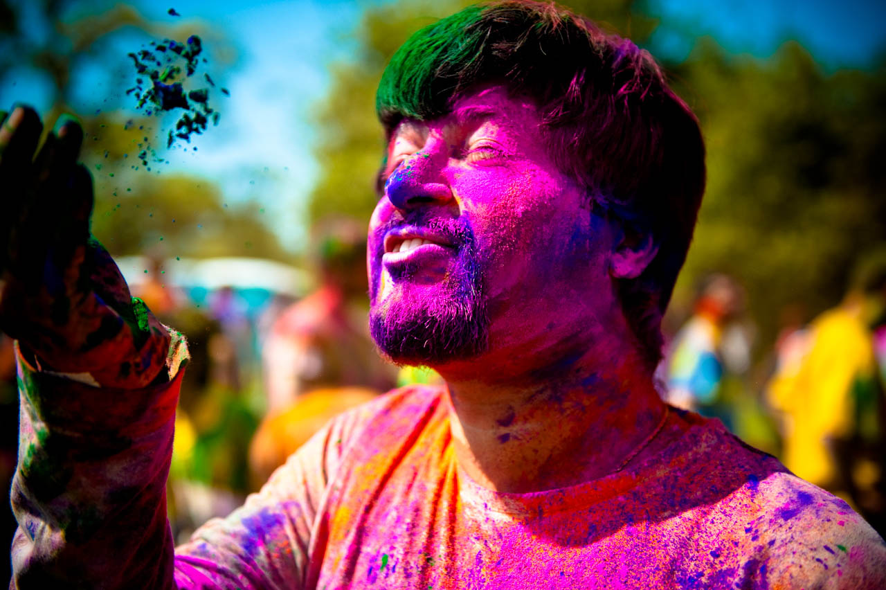 holi festival1 The Most Colorful Holi Festival