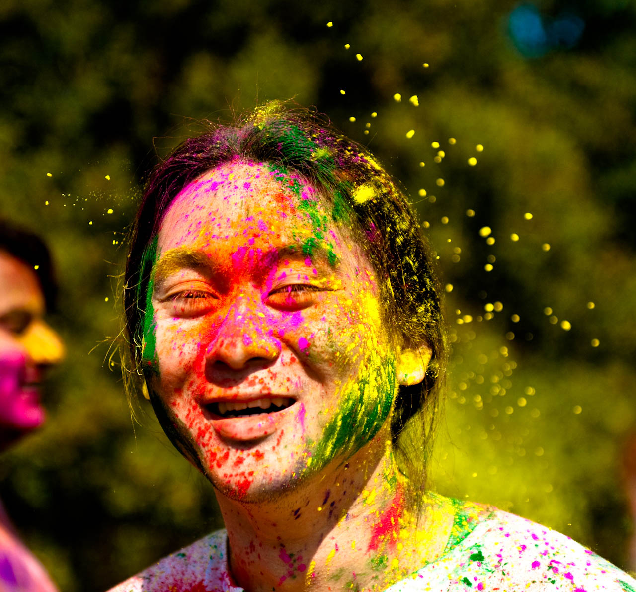 holi festival8 The Most Colorful Holi Festival