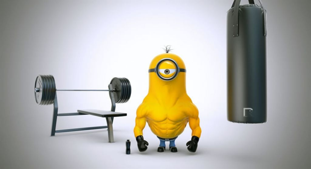 minion Movie Heroes as Minions