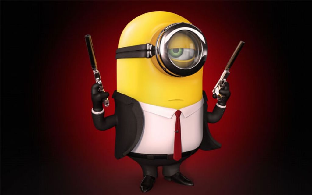 minion1 Movie Heroes as Minions
