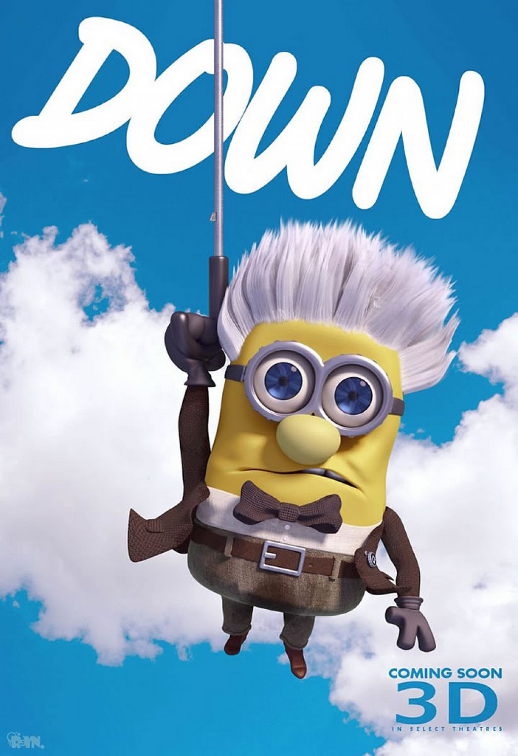 minion10 Movie Heroes as Minions