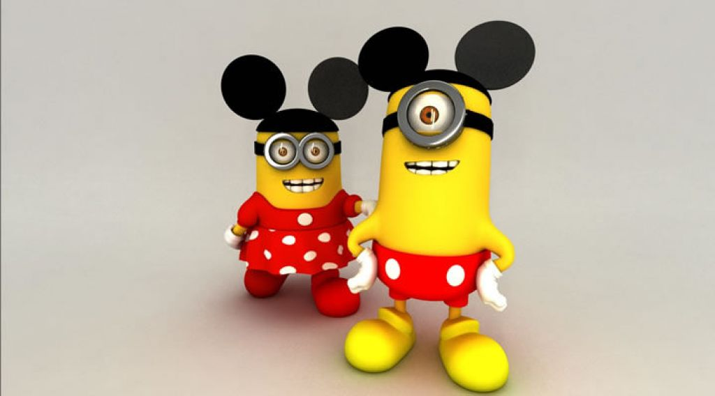 minion12 Movie Heroes as Minions