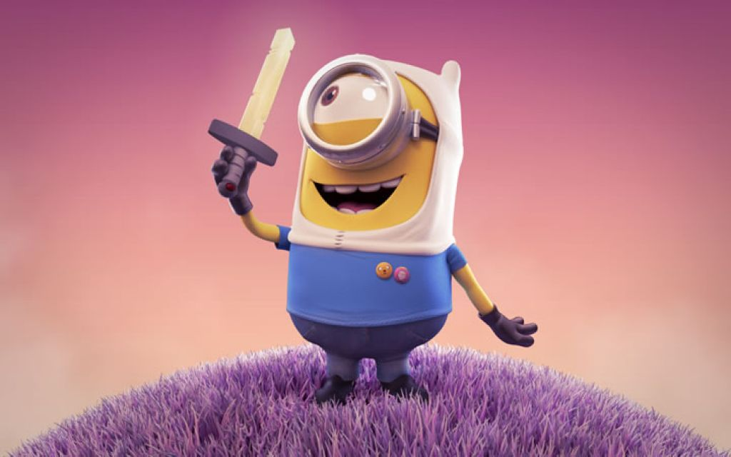 minion14 Movie Heroes as Minions