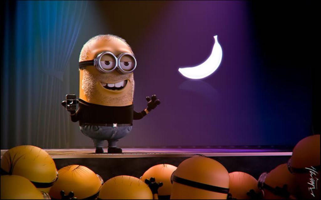 minion19 Movie Heroes as Minions