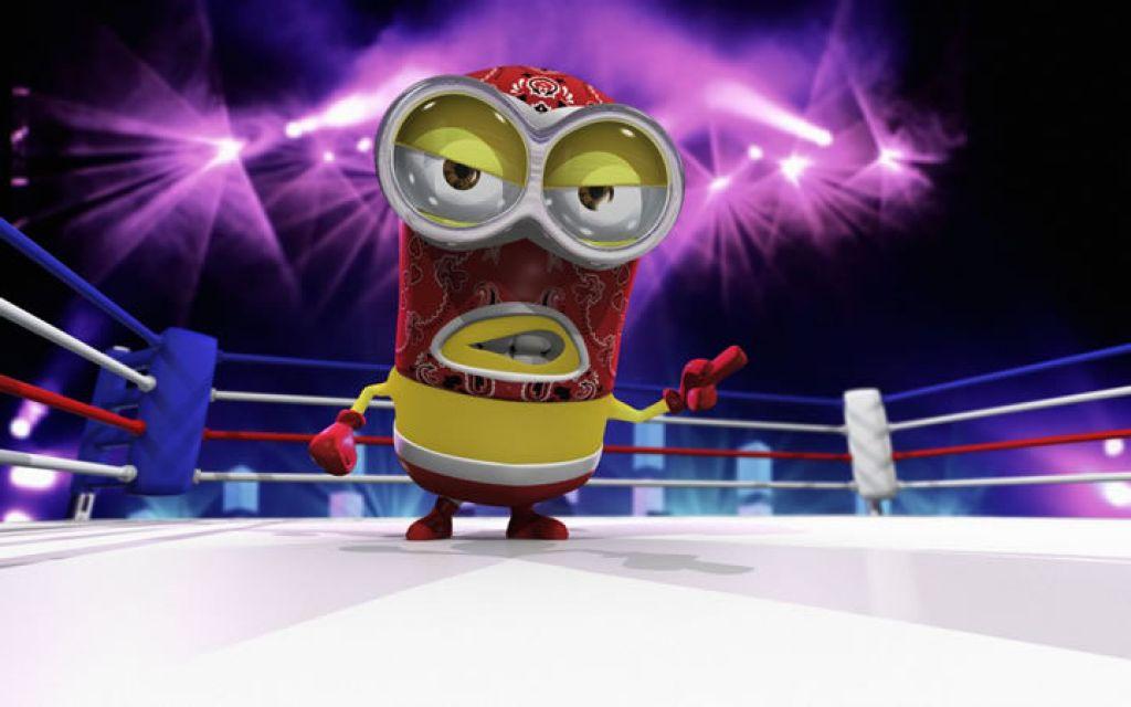 minion6 Movie Heroes as Minions