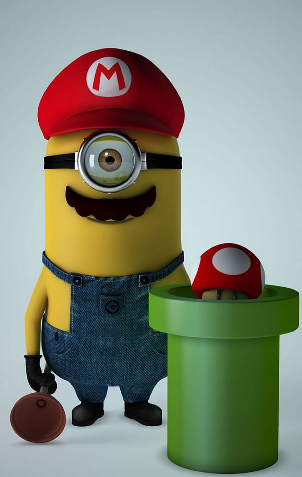 minion9 Movie Heroes as Minions