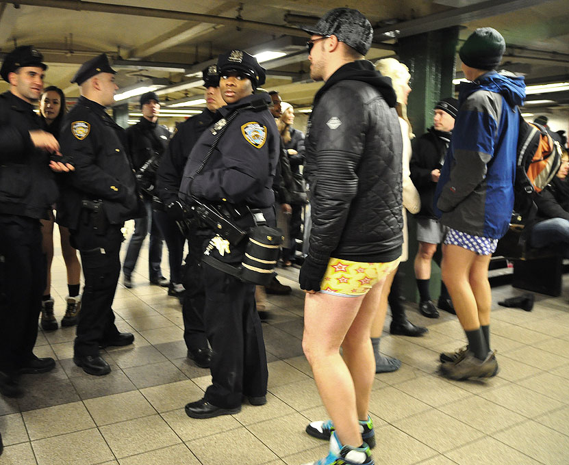 no pants ride No Pants Subway Ride 2011 in NYC
