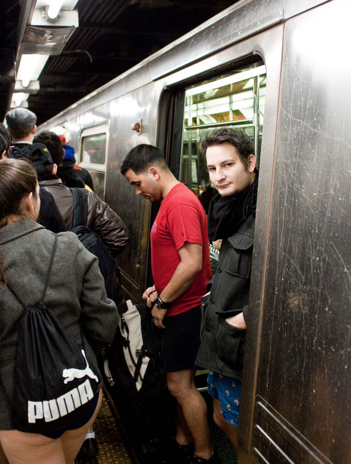 no pants ride11 No Pants Subway Ride 2011 in NYC