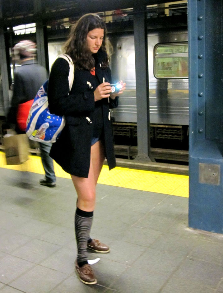 no pants ride2 No Pants Subway Ride 2011 in NYC