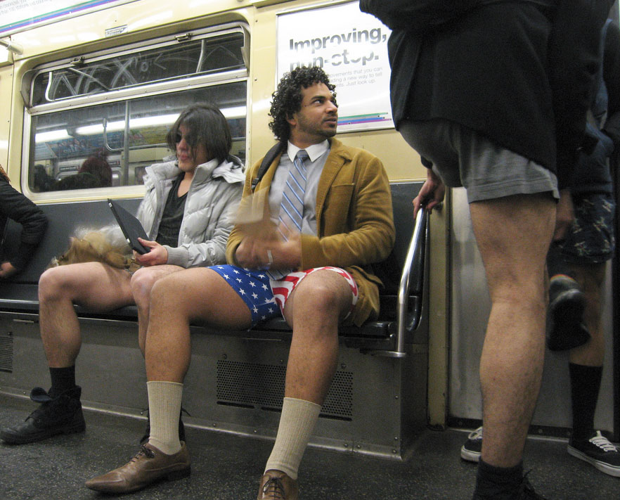 no pants ride4 No Pants Subway Ride 2011 in NYC