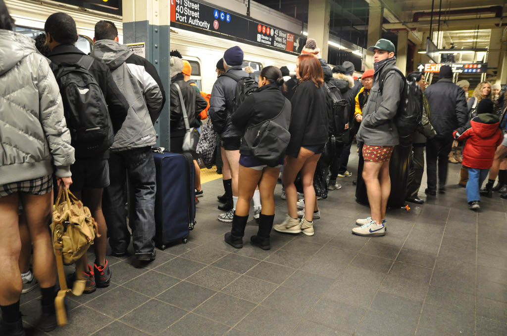 no pants ride7 No Pants Subway Ride 2011 in NYC