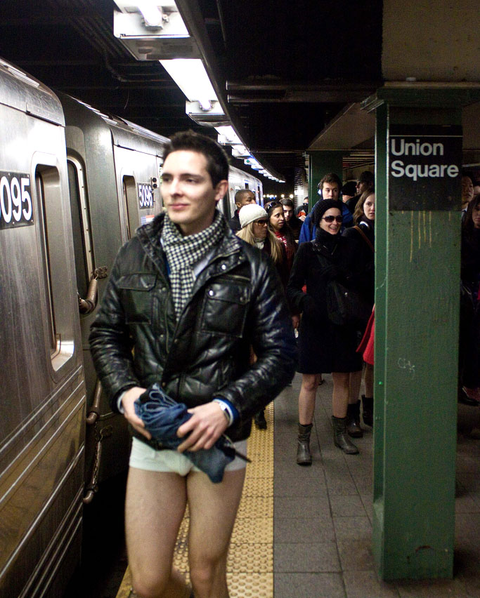 no pants ride9 No Pants Subway Ride 2011 in NYC