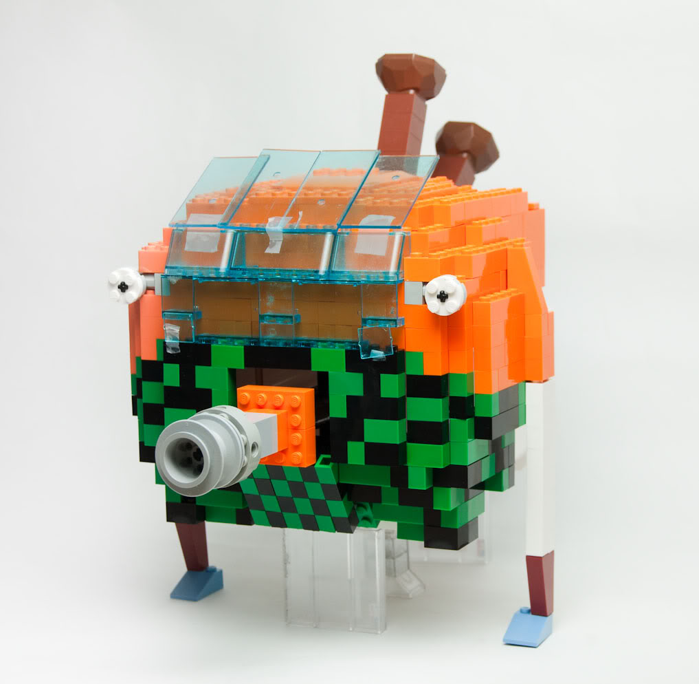 lego minifigures23 Weird Lego Creatures