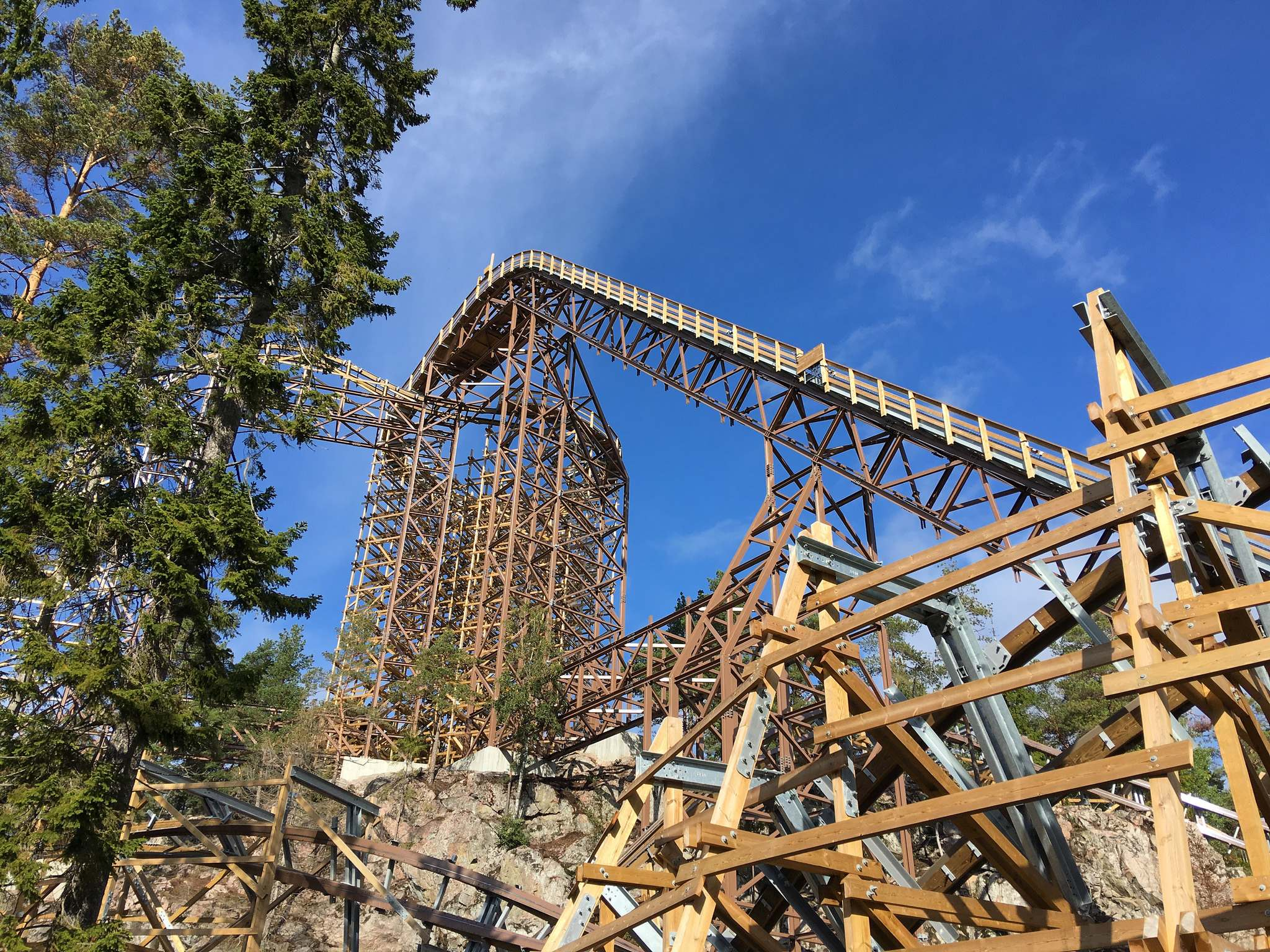 wildfire Wildfire   Fastest Wooden Coaster in Europe